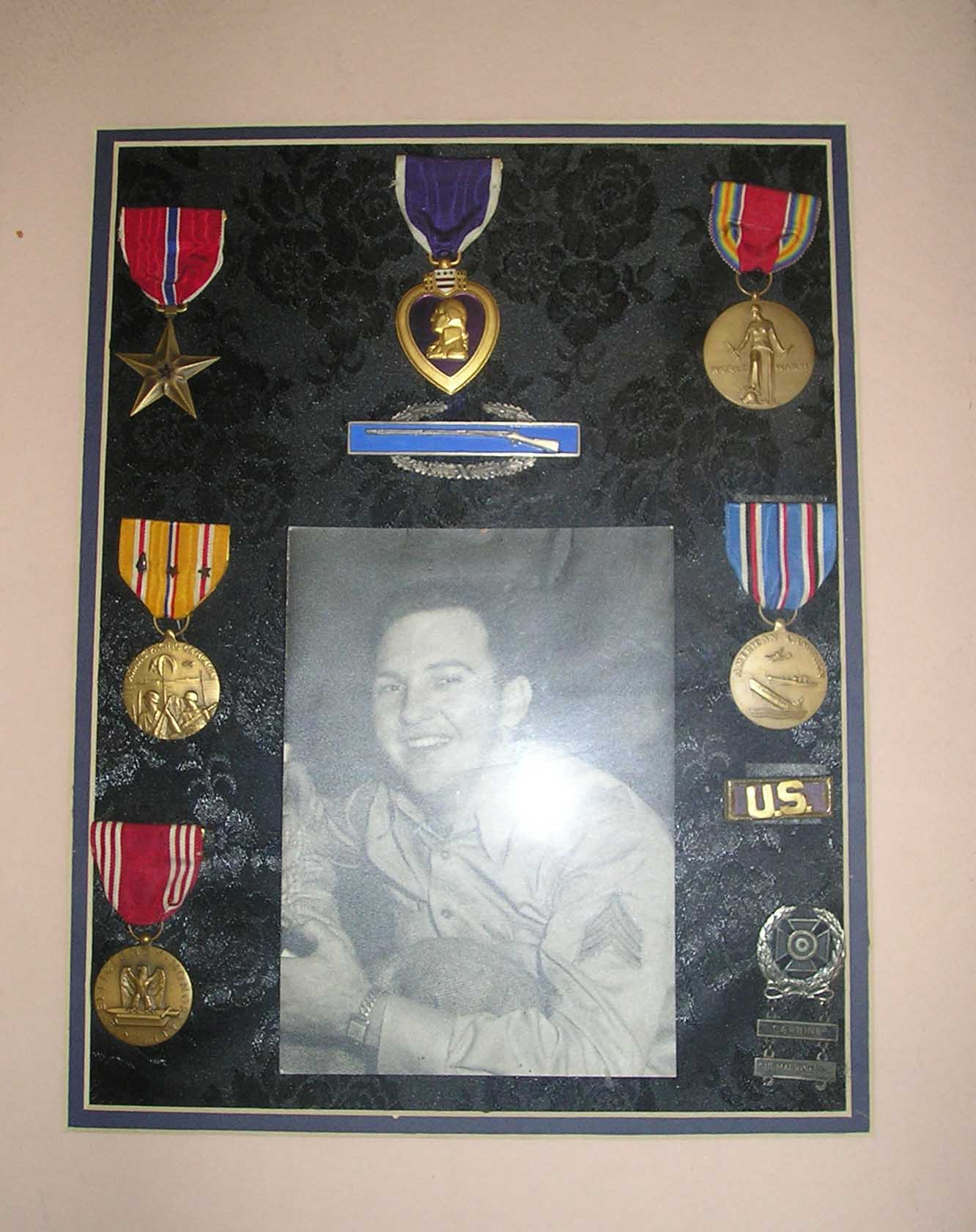 LeRoy Hugo Military Medals